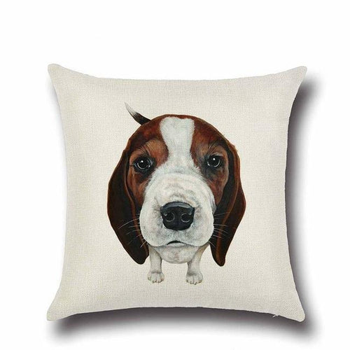Simple Beagle Love Cushion CoverHome DecorBeagle