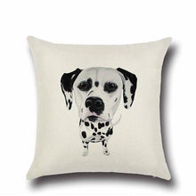 Load image into Gallery viewer, Simple Chocolate Brown Labrador Love Cushion CoverHome DecorDalmatian - Option 1