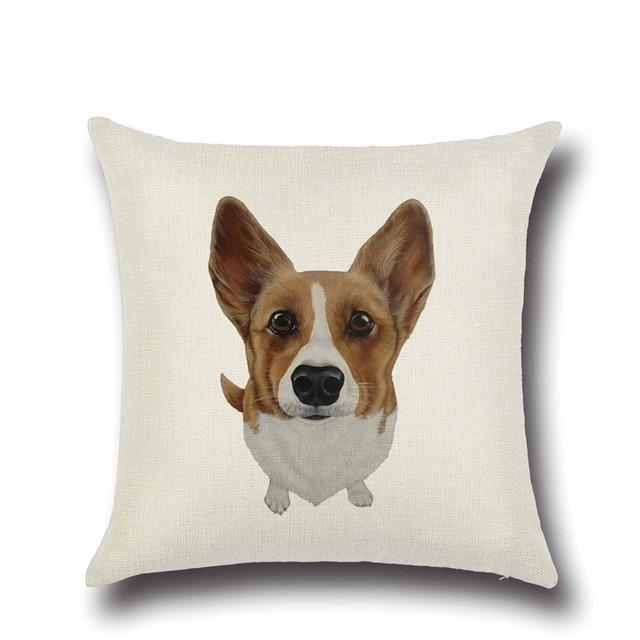 Simple Corgi Love Cushion CoverHome DecorCorgi