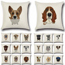 Load image into Gallery viewer, Simple Schnauzer Love Cushion CoverHome Decor