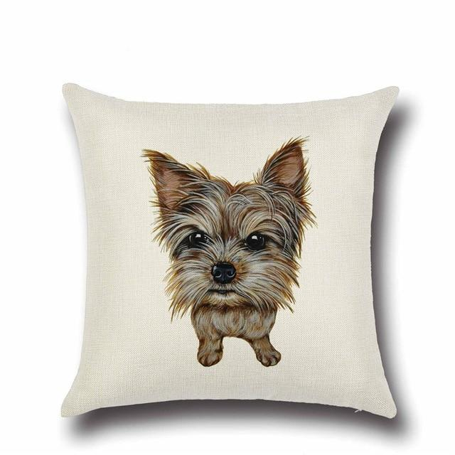 Simple Yorkshire Terrier / Yorkie Love Cushion CoverHome DecorYorkshire Terrier / Yorkie - Option 1