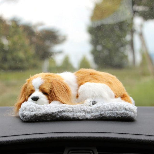 Sleeping Cavalier King Charles Spaniel Car Air FreshenerCar AccessoriesCavalier King Charles Spaniel