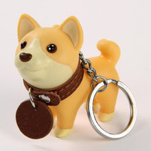 Load image into Gallery viewer, Smiling Bull Terrier Love KeychainAccessoriesShiba Inu