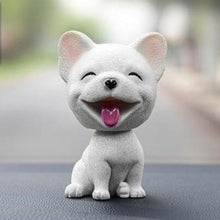 Load image into Gallery viewer, Smiling Pomeranian Resin Bobble HeadCar AccessoriesFrench Bulldog