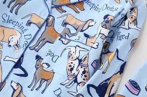 Some of the Dogs I Love Cotton Pajamas - Dalmatian, Pug, Labrador, Basset Hound & Australia ShepherdPajamas