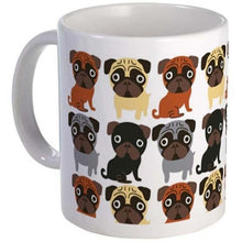 Load image into Gallery viewer, Some of the Pugs I Love Coffee MugMugPugs of All Coats11oz