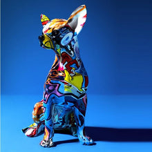 Load image into Gallery viewer, Stunning Chihuahua Design Multicolor Resin StatueHome Decor