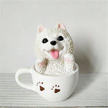 Load image into Gallery viewer, Teacup Samoyed Desktop OrnamentHome DecorSamoyed