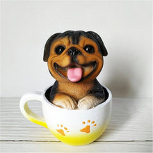 Load image into Gallery viewer, Teacup Shiba Inu Desktop OrnamentHome DecorRottweiler