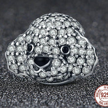 Load image into Gallery viewer, Toy Poodle Love Silver Charm BeadDog Themed Jewellery