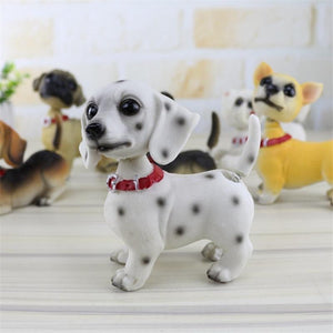 Waggling Tail and Nodding Head Beagle BobbleheadCar Accessories