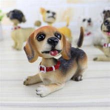 Load image into Gallery viewer, Waggling Tail and Nodding Head Beagle BobbleheadCar Accessories