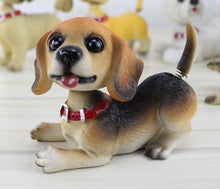 Load image into Gallery viewer, Waggling Tail and Nodding Head Beagle BobbleheadCar AccessoriesBeagle