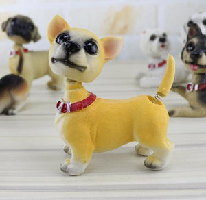 Waggling Tail and Nodding Head Beagle BobbleheadCar AccessoriesChihuahua