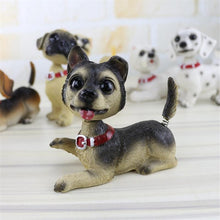 Load image into Gallery viewer, Waggling Tail and Nodding Head Chihuahua BobbleheadCar Accessories