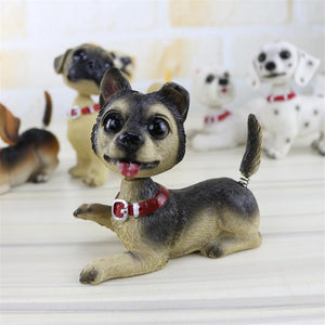 Waggling Tail and Nodding Head Chihuahua BobbleheadCar Accessories
