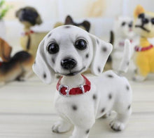 Load image into Gallery viewer, Waggling Tail and Nodding Head Chihuahua BobbleheadCar AccessoriesDalmatian