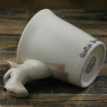 Load image into Gallery viewer, White Scotties / Scottish Terrier Love 3D Ceramic CupMug