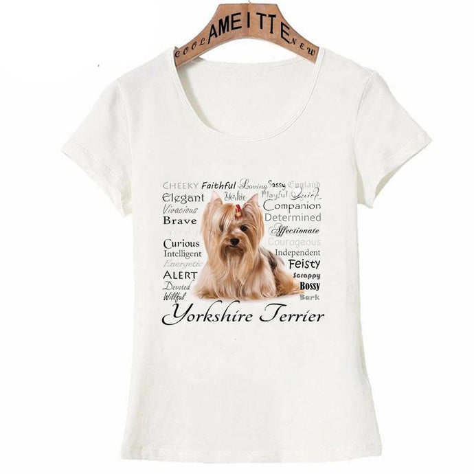 Why I Love My Yorkie Womens T ShirtApparel