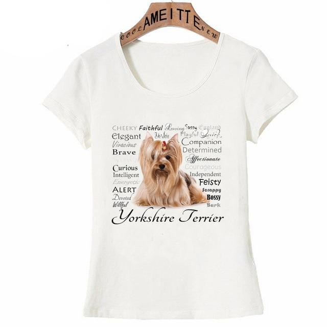 Why I Love My Yorkie Womens T ShirtApparelYorkshire Terrier - PersonalityXXXL