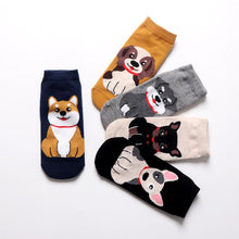 Load image into Gallery viewer, Womens Ankle Length Socks for Dog LoversSocks