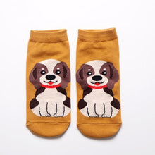 Load image into Gallery viewer, Womens Ankle Length Socks for Dog LoversSocksBeagle
