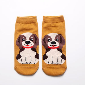 Womens Ankle Length Socks for Dog LoversSocksBeagle
