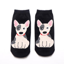 Load image into Gallery viewer, Womens Ankle Length Socks for Dog LoversSocksBull Terrier
