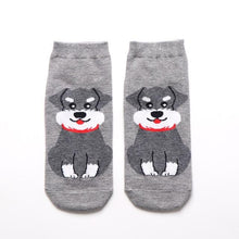 Load image into Gallery viewer, Womens Ankle Length Socks for Dog LoversSocksMini Schnauzer