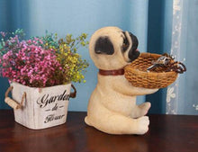 Load image into Gallery viewer, Yellow Labrador Love Tabletop Organiser & Piggy Bank StatueHome Decor