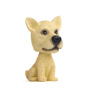 Yellow Labrador Miniature Car BobbleheadCar AccessoriesGreat Dane - Fawn