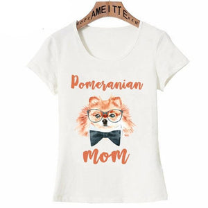Yellow Pomeranian Love Womens T ShirtApparelPomeranian MomS