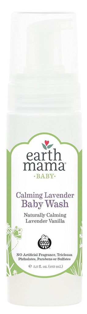 Earth Mama Organics - Calming Lavender Baby Wash - 5.3 fl. oz