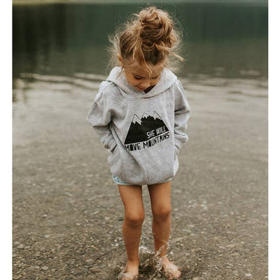 She Will Move Mountains Hoodie