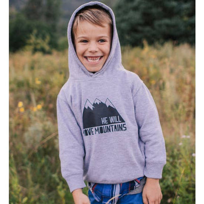 Made of Mountains He Will Move Mountains Hoodie
