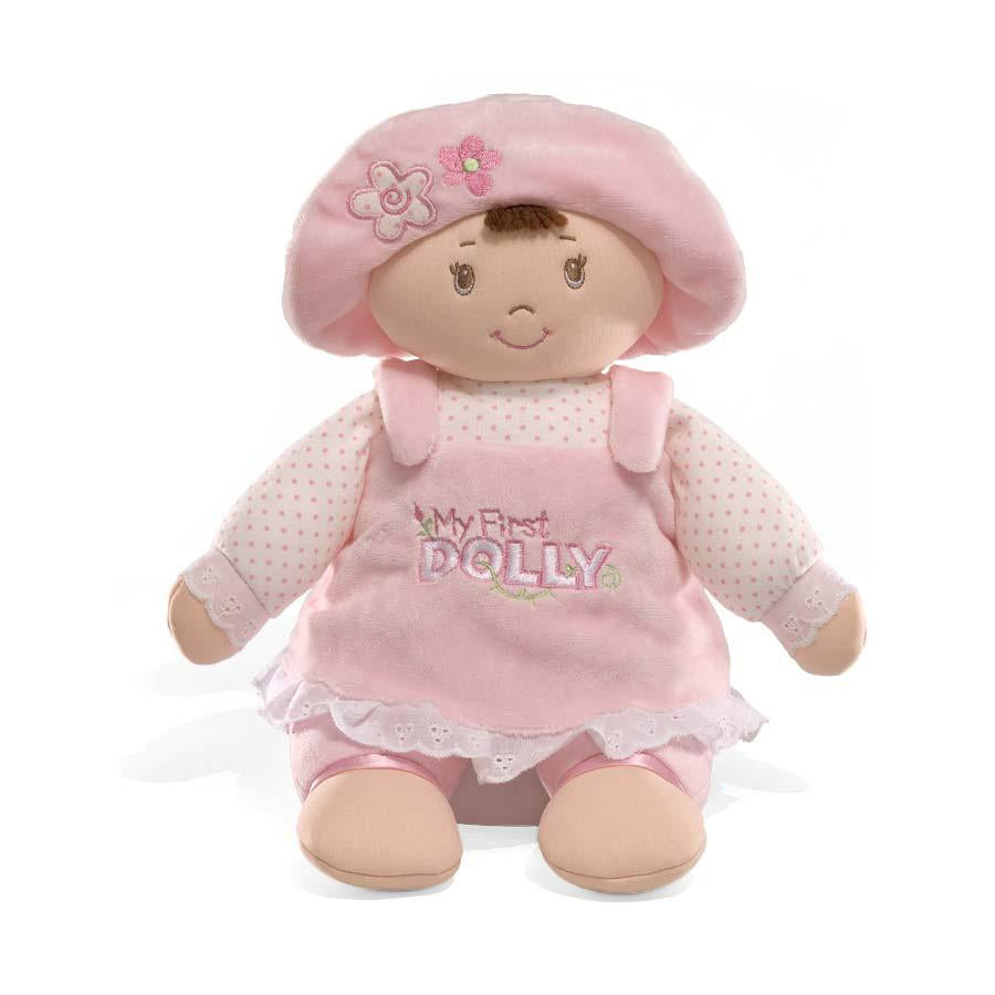 GUND My First Dolly - Brunette