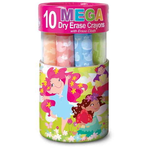The Piggy Story MEGA Dry Erase Crayons - Assortment
