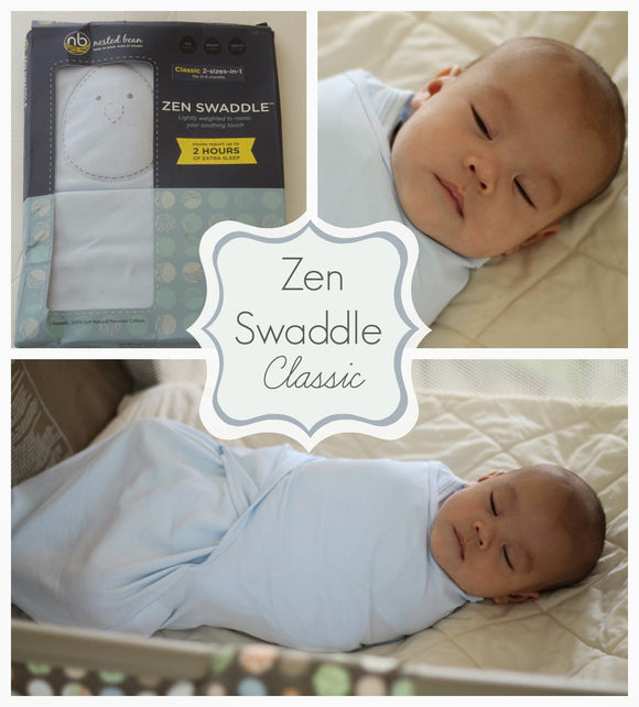 Nested Bean Zen Swaddle - Just Ducky Originals