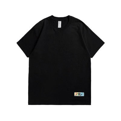 Destruction Cotton Plain T-Shirt