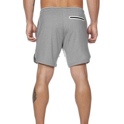 Zyaire Quick Dry 2-in-1 Pocket Running Shorts