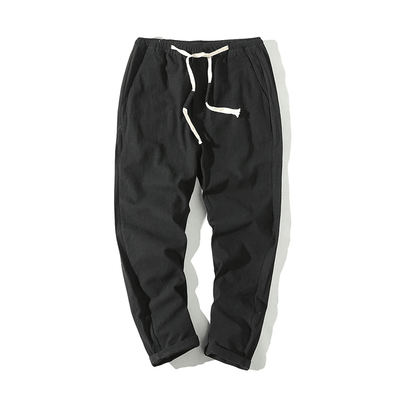 Hypest Fit Black / S BROOKLYN Linen Joggers