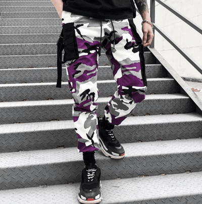 Hypest Fit bottoms KRUSH Kamo Pants - PURPLE/BLACK