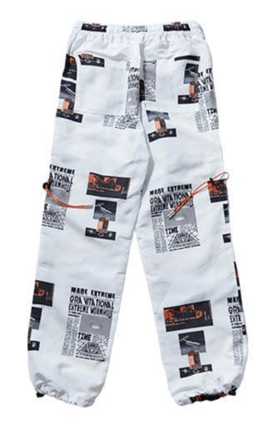 Hypest Fit bottoms S / White ATOMIC Nuclear Joggers