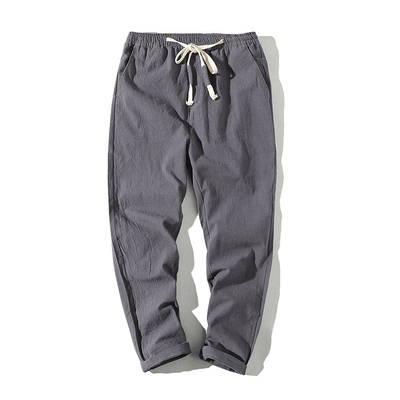 Hypest Fit Dark Grey / S BROOKLYN Linen Joggers