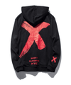 Hypest Fit hoodie XS / Black and Red SACRILEGE Hoodie (3 colors)