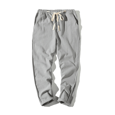 Hypest Fit Light Grey / S BROOKLYN Linen Joggers