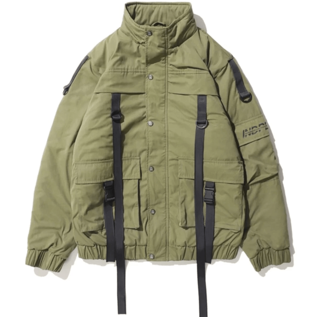 Hypest Fit outerwear Army Green / S [DESIGNER] BLACKHAWK BOMBER COAT