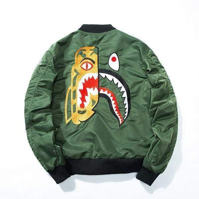 Hypest Fit outerwear Army Green / S DUALITY Bomber Jacket