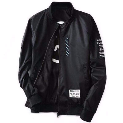 Hypest Fit outerwear Black / S LORENTZ Ribbed Reversible Bomber (4 colors)