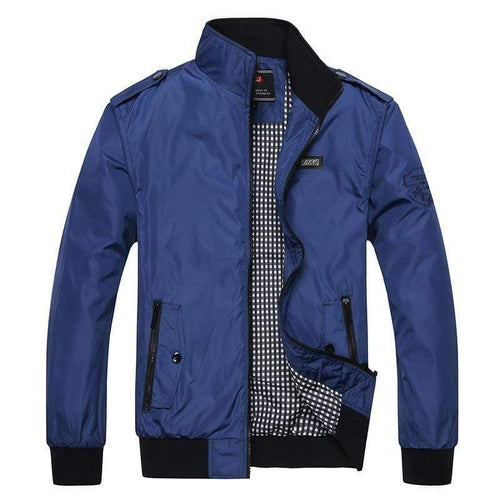Hypest Fit outerwear Blue / L Plain Bomber Jacket
